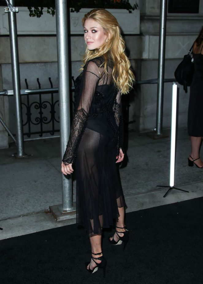 Katherine McNamara - Arrives at Harper's Bazaar ICONS Party in New York