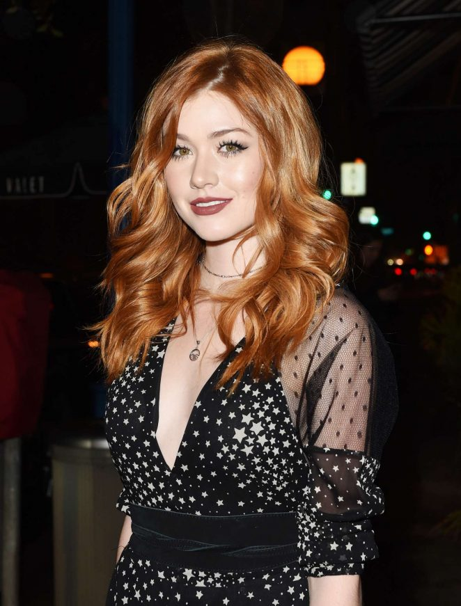 Katherine McNamara - Arriving to A Pre Golden Globe Party in LA