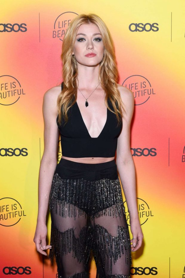 Katherine McNamara - ASOS celebrates partnership with Life Is Beautiful at No Name in LA