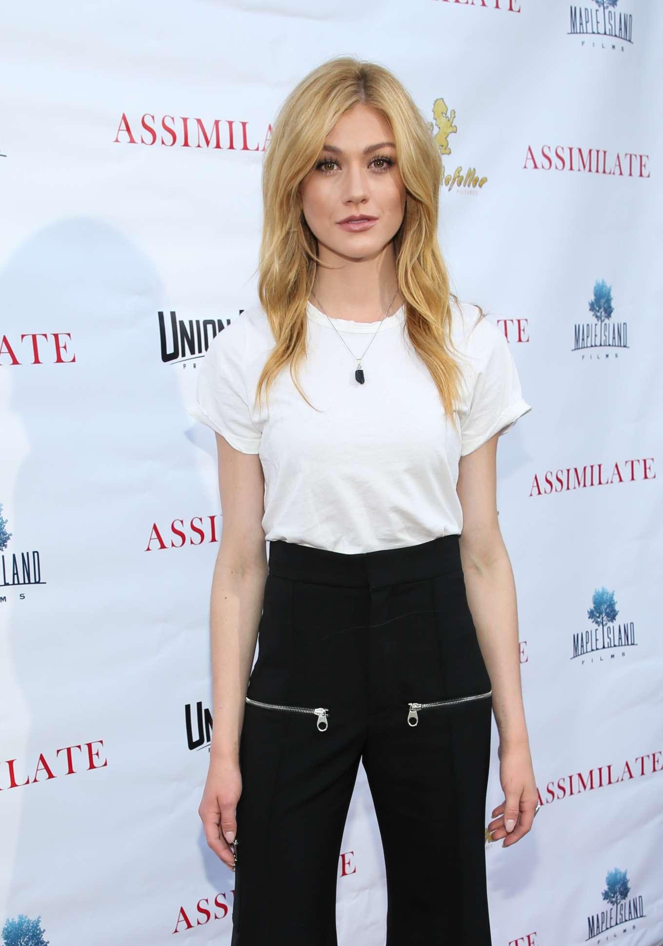 Katherine McNamara - 'Assimilate' Premiere in Beverly Hills