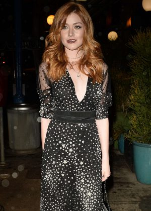 Katherine Mcnamara - Attends a party for Moet at Poppy in West Hollywood