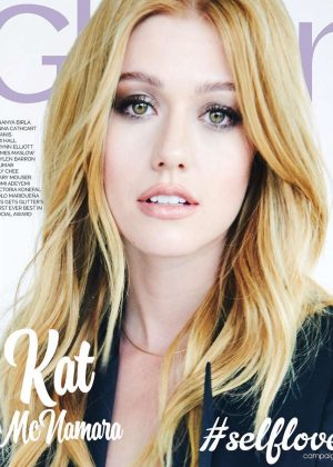 Katherine McNamara for Glitter Magazine Cover 2018