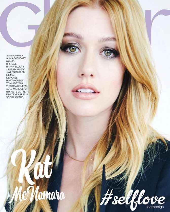 Katherine McNamara for Glitter Magazine Cover 2018