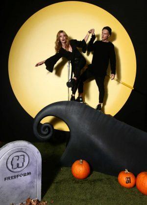 Katherine McNamara - Freeform Halloween House Photo Booth