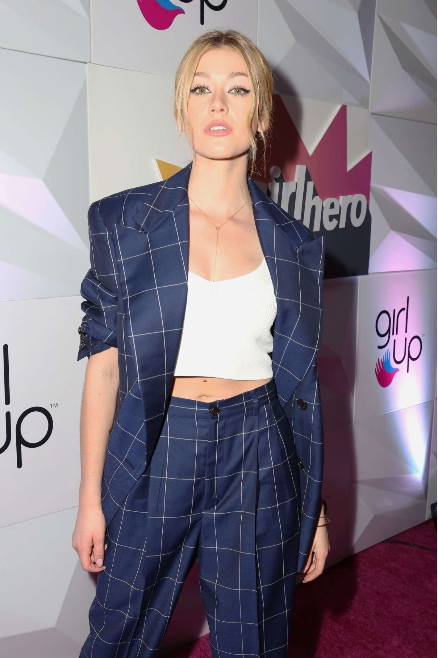 Katherine McNamara – Girl Up's Inaugural #GirlHero Awards Luncheon in Beverly Hills