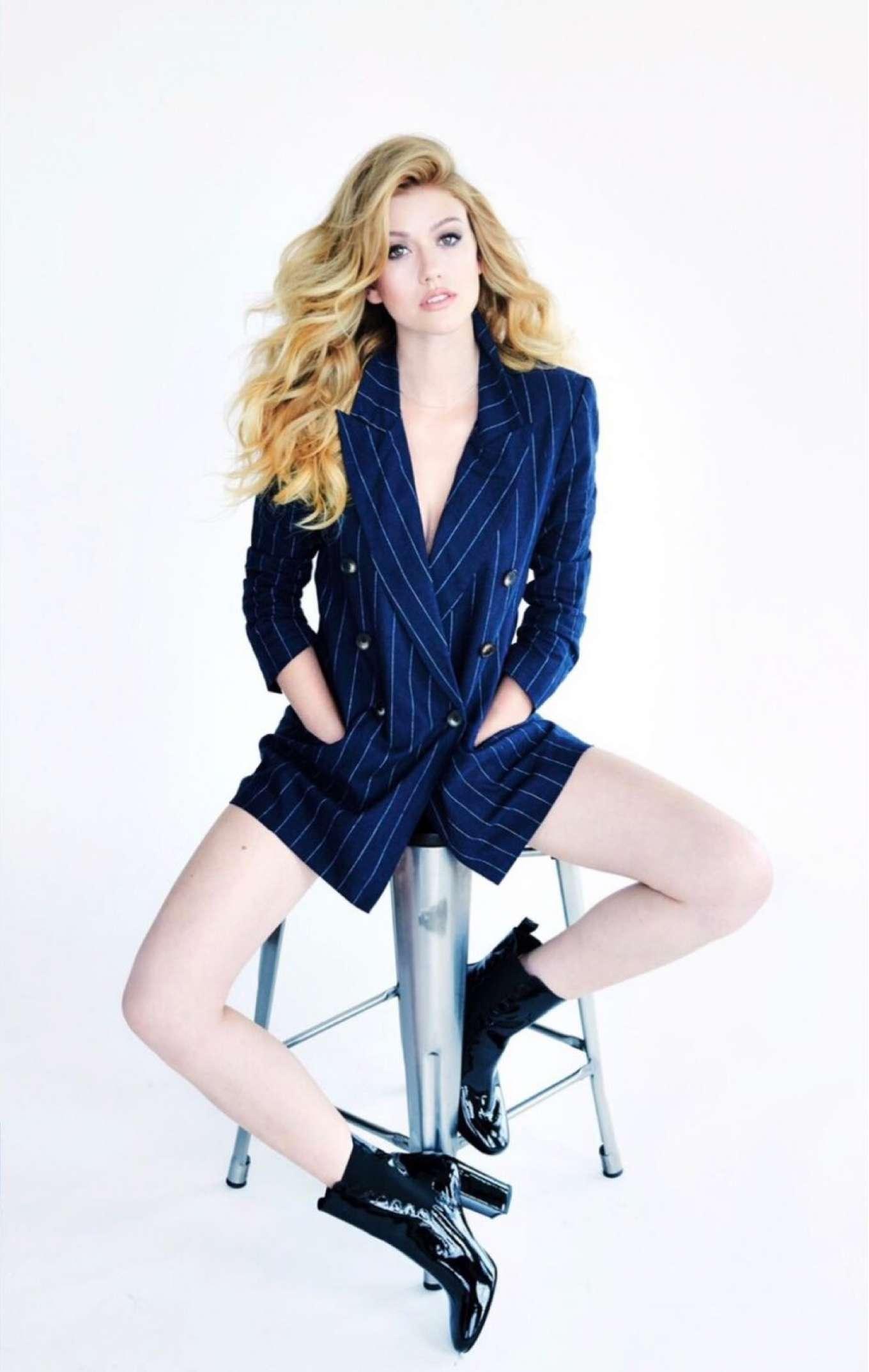 Katherine McNamara 2018 : Katherine McNamara: Glitter Magazine 2018 -05
