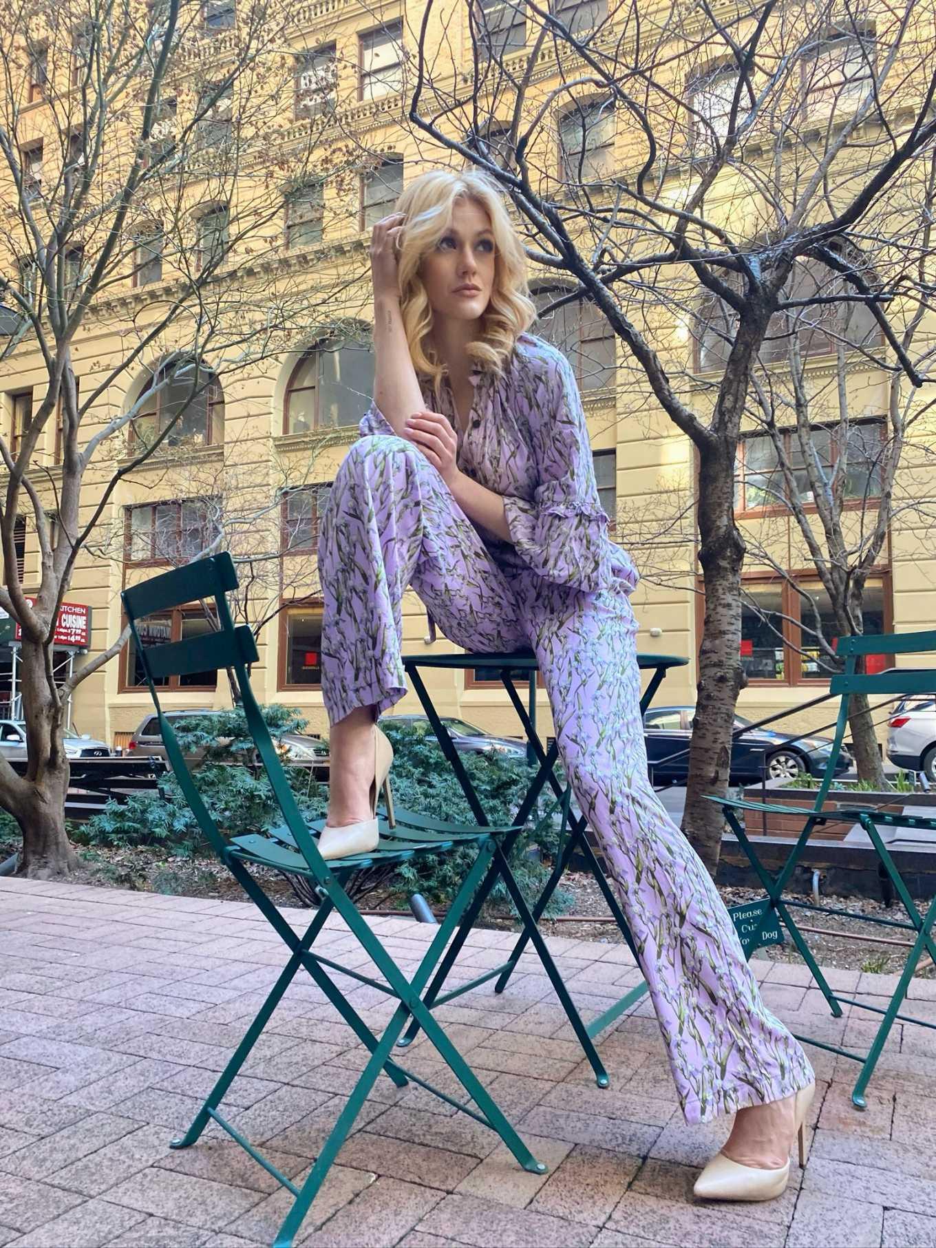 Katherine McNamara - Happy by Nature Photoshoot in New York