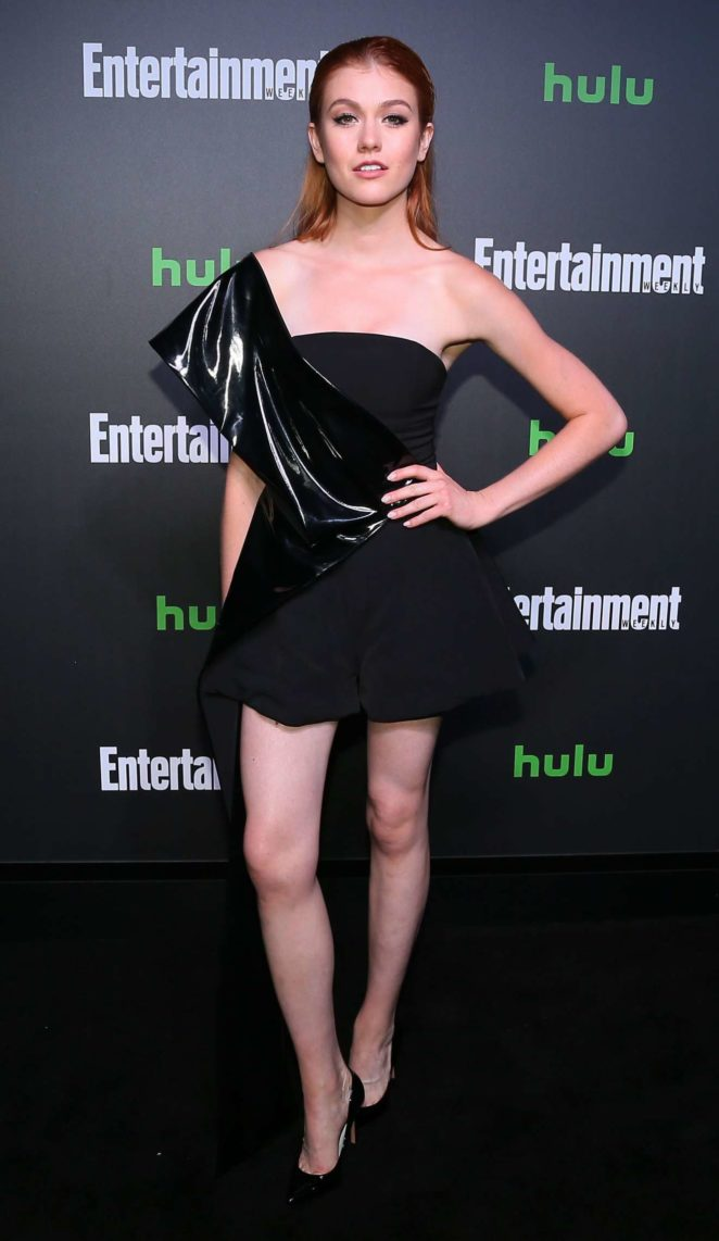 Katherine McNamara - Hulu's New York Comic Con After Party