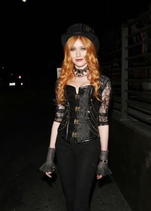 Katherine McNamara - Hyde's Halloween Bash in Hollywood