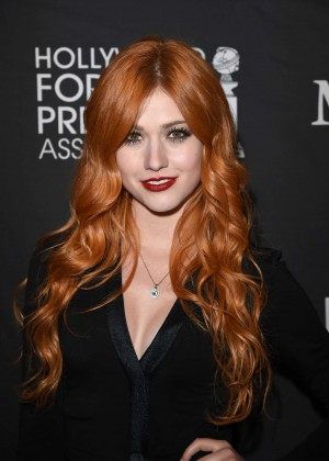 Katherine McNamara - InStyle and HFPA Party 2015 in Toronto