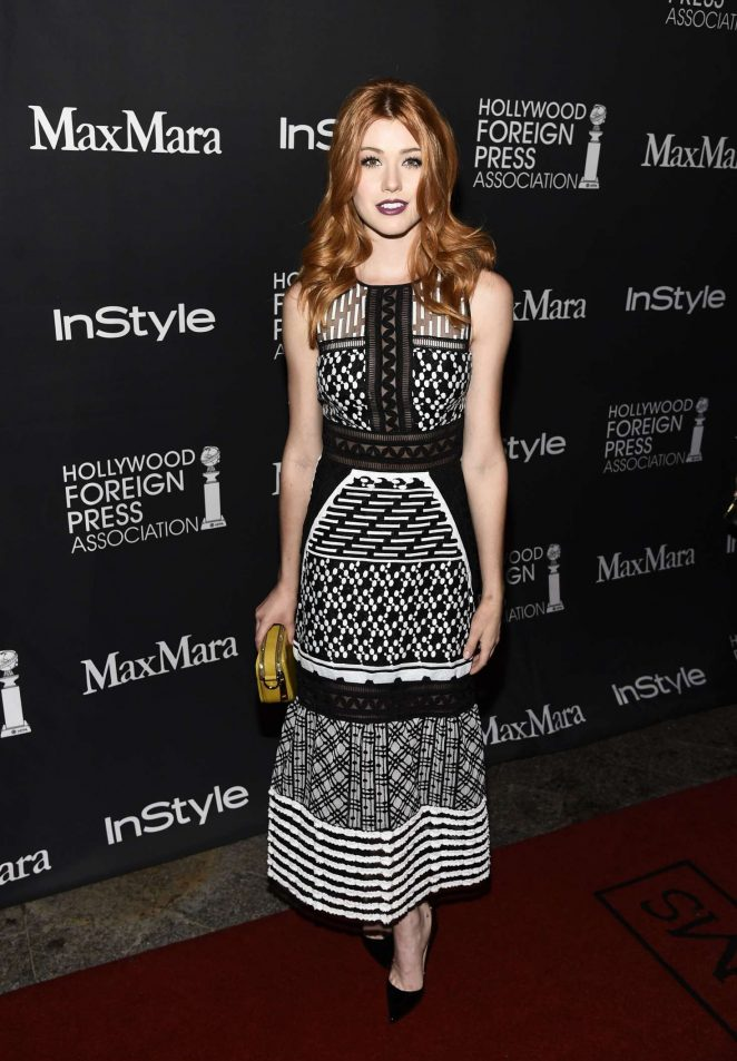 Katherine McNamara - Instyle Hollywood Foreign Press Association Party 2016 in Toronto