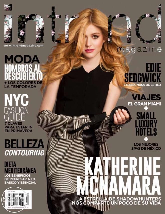 Katherine McNamara – InTrend Cover 2016 -01