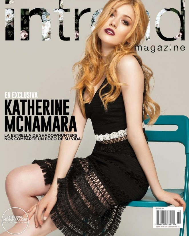 Katherine McNamara - InTrend Magazine Cover (April 2016)