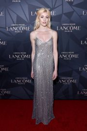 Katherine McNamara - Lancome x Vogue L'Absolu Ruby Holiday Event in West Hollywood