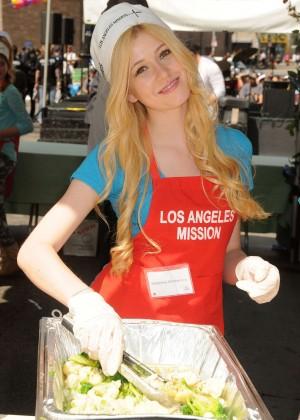 Katherine McNamara - Mission Easter Event in Los Angeles