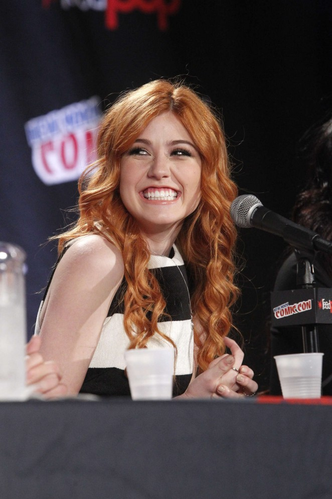 Katherine McNamara - New York Comic-Con Shadowhunters Panel