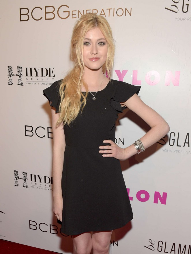 Katherine McNamara - NYLON Young Hollywood Party 2015 in Hollywood