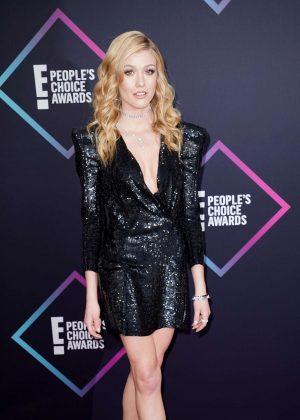 Katherine McNamara - People's Choice Awards 2018 in Santa Monica