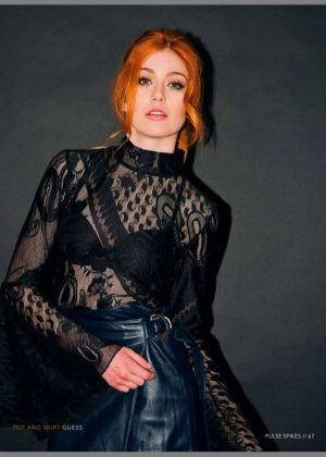 Katherine Mcnamara - Pulse Spikes Shoot (Spring 2017)