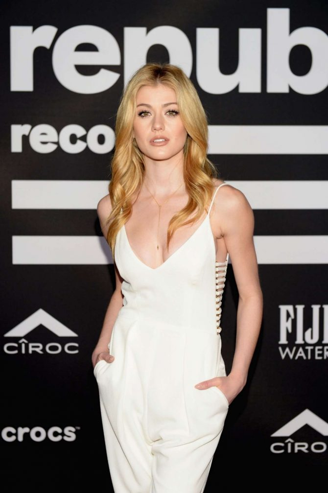 Katherine McNamara – Republic Grammys After Party in LA