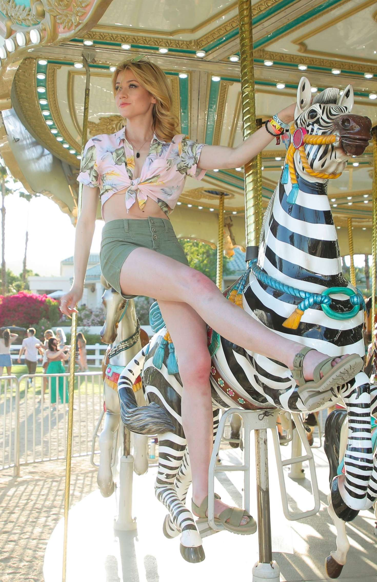 Katherine McNamara - Revolve Party at Coachella Valley Music and Arts Festival in Indio
