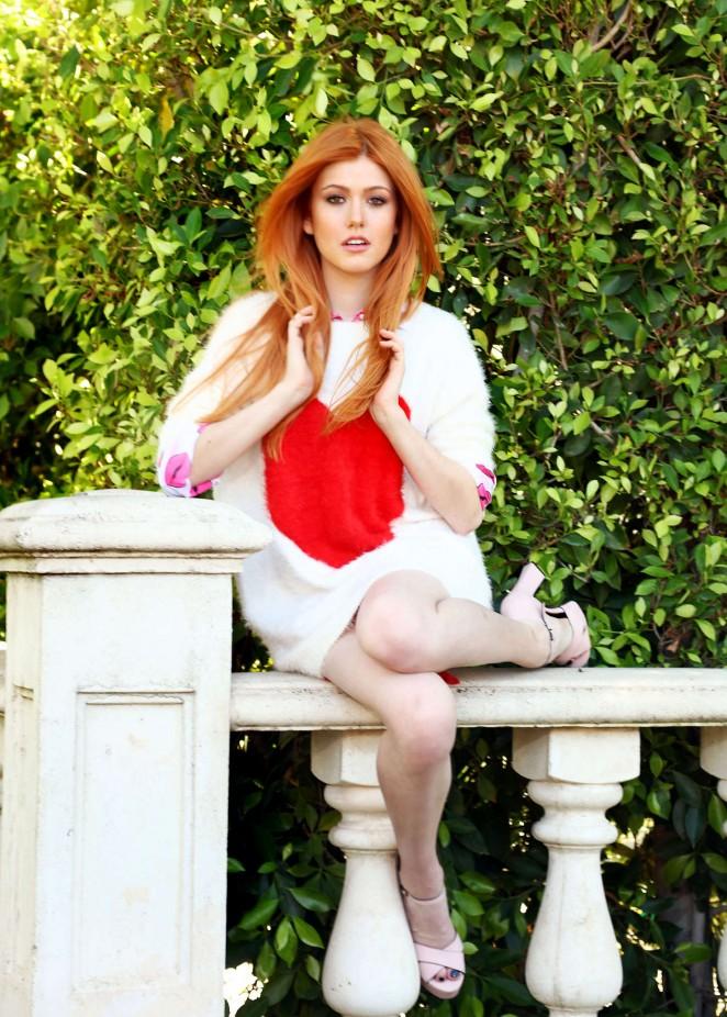 Katherine McNamara - Sara Jaye Weiss Photoshoot in LA