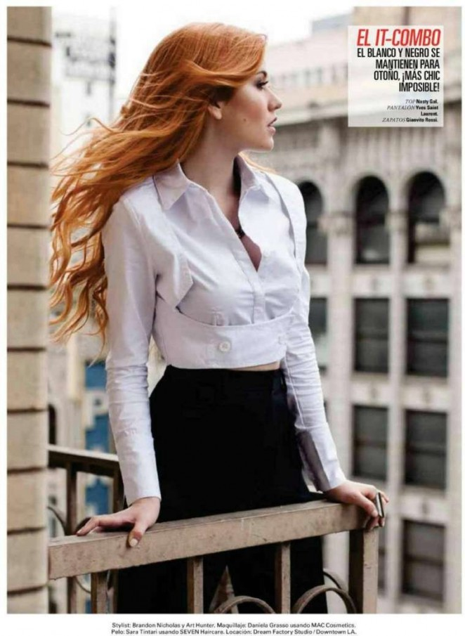 Katherine McNamara - Seventeen Latin Magazine (October 2015)