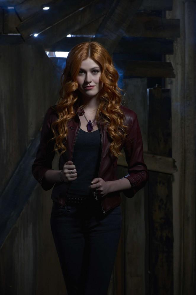 Katherine Mcnamara - Shadowhunters Season 1 Promotional Photos