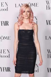 Katherine McNamara - Vanity Fair and Lancome Women In Hollywood Celebration in West Hollywood