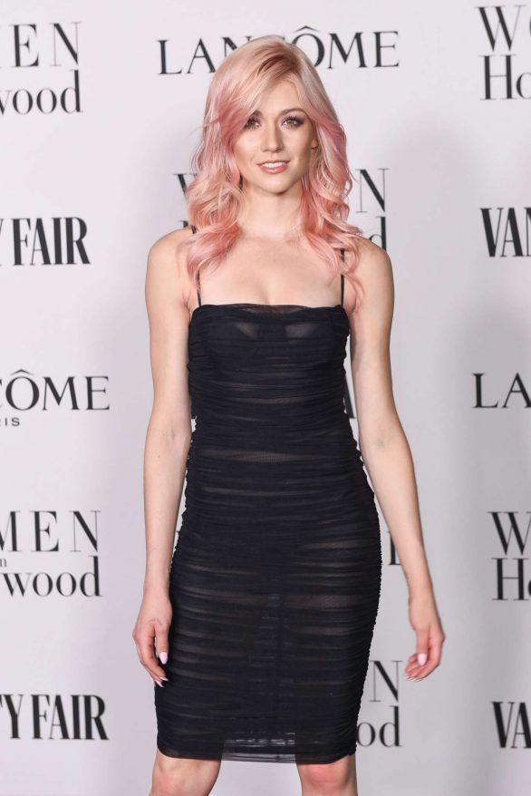 Katherine McNamara - Vanity Fair and Lancome Women In Hollywood Celebration in West Hollywood