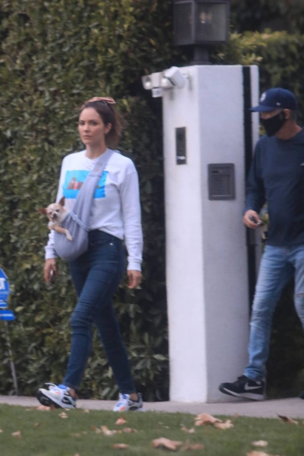 Katherine McPhee - Out and about in Los Angeles