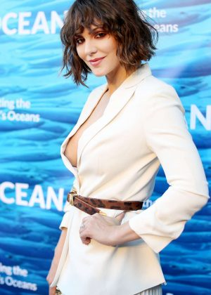 Katherine McPhee - Performs at the Oceana SeaChange Summer Party in Laguna Niguel