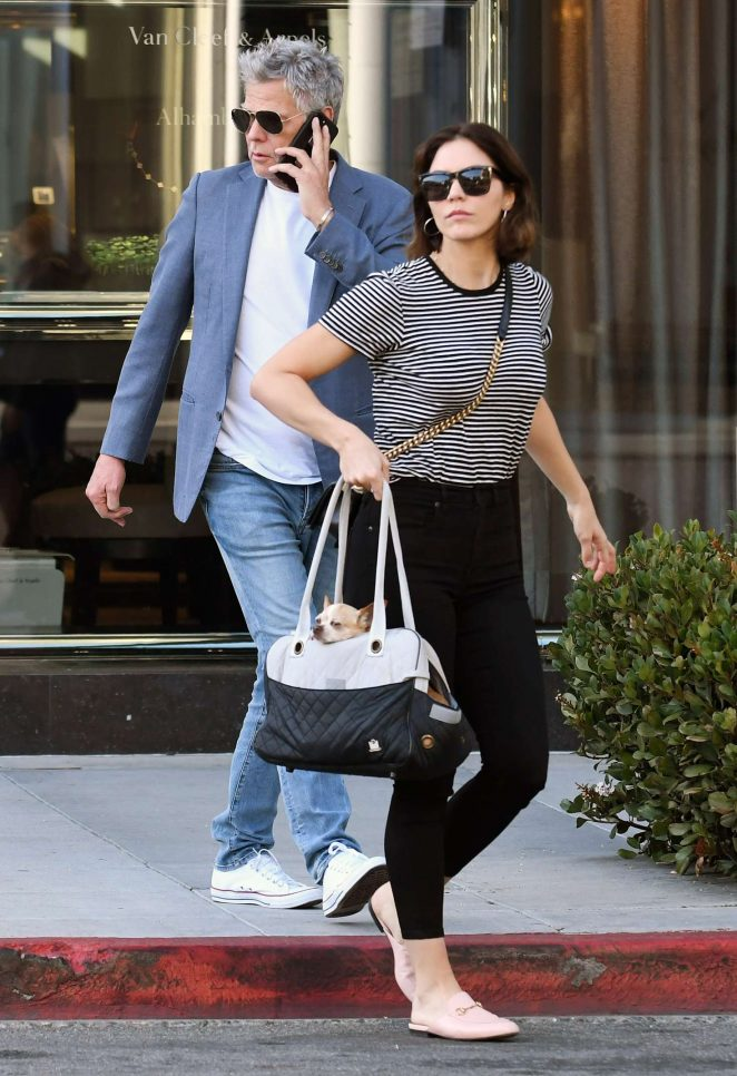 Katherine McPhee - Shopping in Beverly Hills