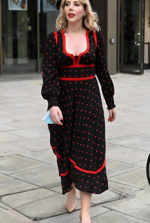 Katherine Ryan - Arrives at London Studios