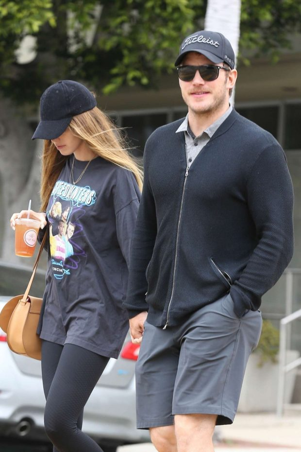 Katherine Schwarzenegger and Chris Pratt - Out in Los Angeles
