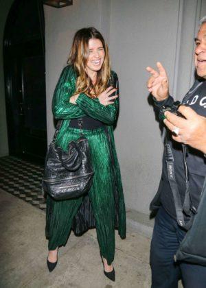 Katherine Schwarzenegger in Green - Night Out in Los Angeles