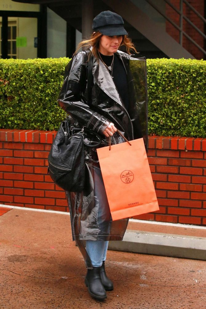 Katherine Schwarzenegger – Out for lunch in Brentwood