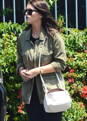 Katherine Schwarzenegger out in West Hollywood