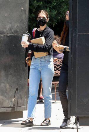 Katherine Schwarzenegger - Seen at 454 north hair salon in West Hollywood