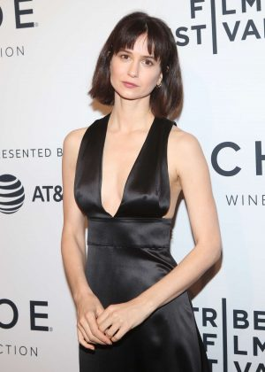 Katherine Waterston - 'State Like Sleep' Premiere at 2018 Tribeca Film Festival in New York