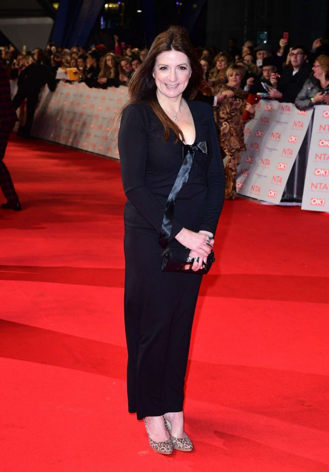 Katheryn Dow - National Television Awards 2018 in London
