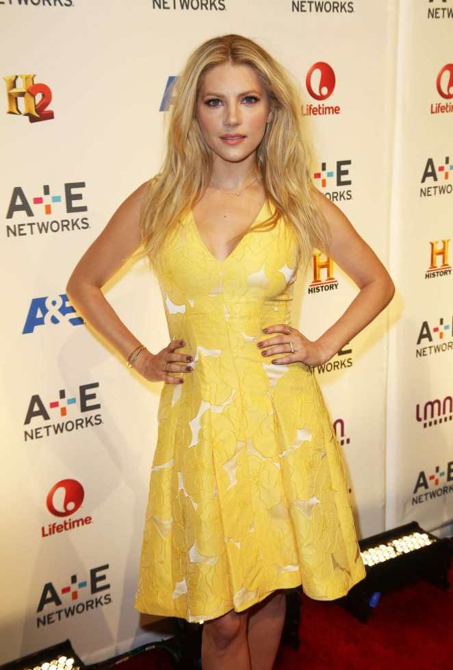 Katheryn Winnick - 2015 A&E/Lifetime Networks Upfront in NY