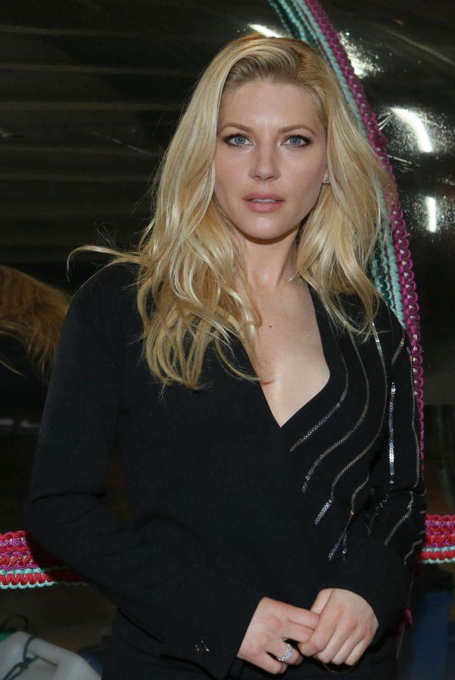 Katheryn Winnick at Mugler Fashion Show in Paris