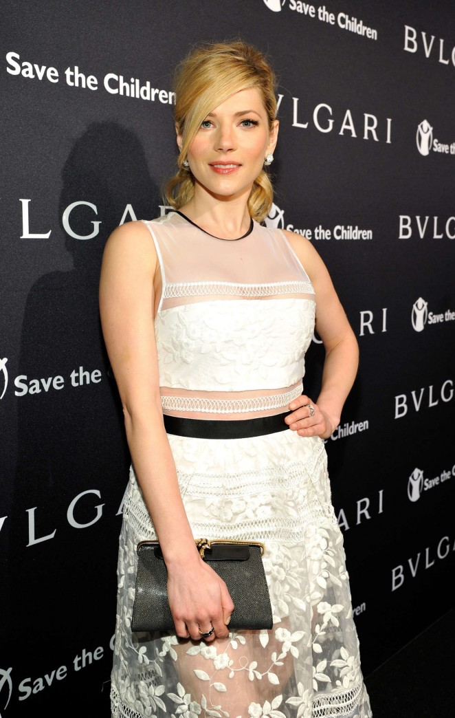 Katheryn Winnick - BVLGARI Save The Children STOP THINK GIVE Pre-Oscar Event in Beverly