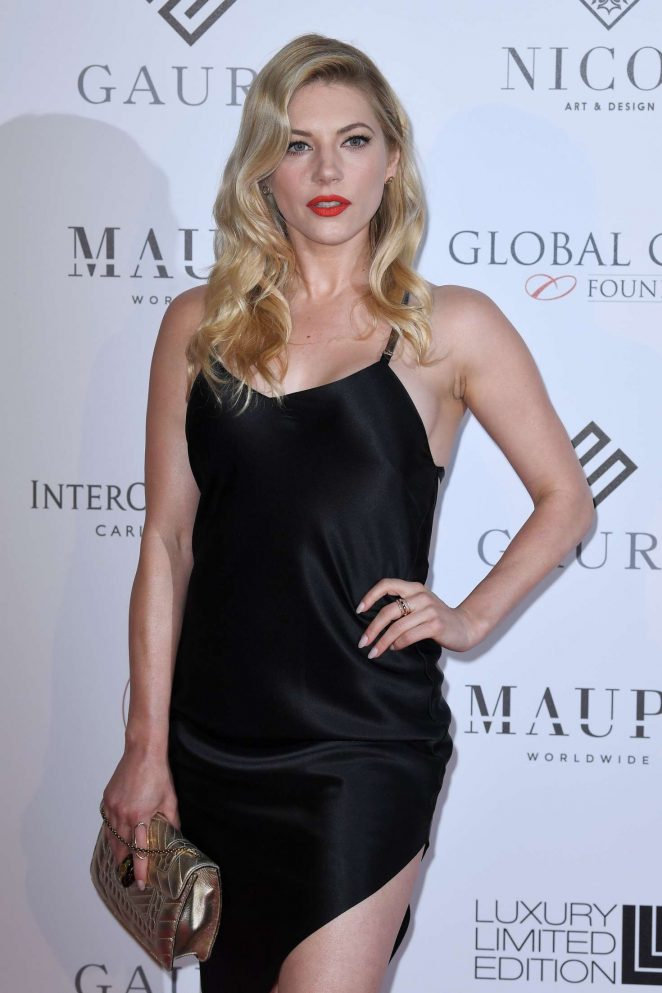 Katheryn Winnick - Global Gift Initiative at 2018 Cannes Film Festival