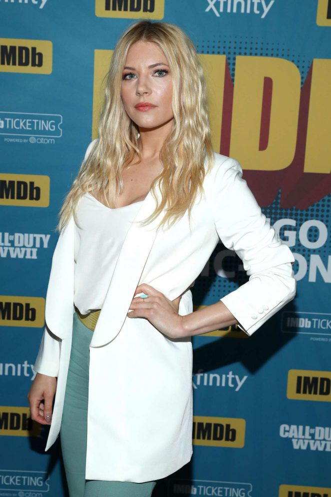Katheryn Winnick - IMDboat At San Diego Comic-Con 2017