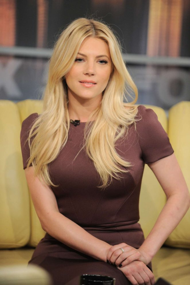 Katheryn Winnick on 'Good Day New York' in NYC