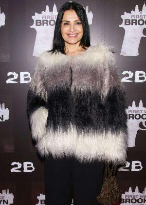 Kathrine Narducci - 'First We Take Brooklyn' Premiere in New York