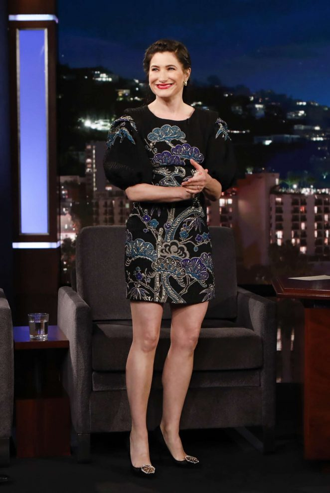 Kathryn Hahn at Jimmy Kimmel Live! in Los Angeles