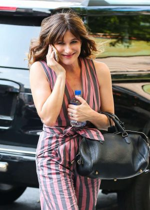 Kathryn Hahn out in New York